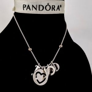 Authentic Pandora I love you Necklace 60 cm